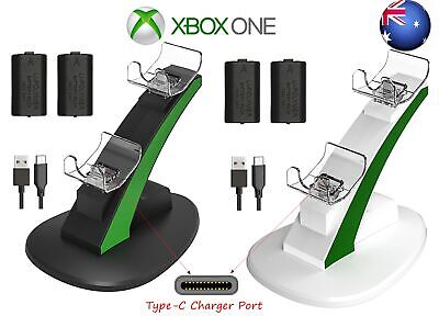 AU25.49 • Buy For Xbox One SX/SS Controller Dual Charging Dock Charger+2*Rechargeable Battery
