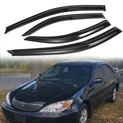 $26.49 • Buy For Toyota Camry 2002-2006 Window Vent Visors Wind Deflectors Rain Guards Shades
