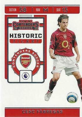 AU26.20 • Buy 2019-20 Panini Chronicles Contenders Soccer Historic Ticket Set Base Common