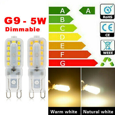 AU6.92 • Buy G9 LED Bulb 5W 22LED 2835 Dimmable Capsule Corn Light 220V Replace Halogen Lamp