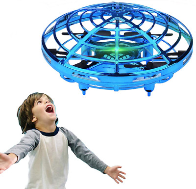 AU63.81 • Buy WALLE Drones For Kids Boys Flying Toys Mini Hand Toy With LED Blue