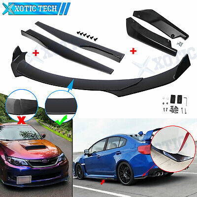$169.90 • Buy Front Bumper Lip Spoiler Diffuser Body Kits / Side Skirt /Rear Lip For Subaru