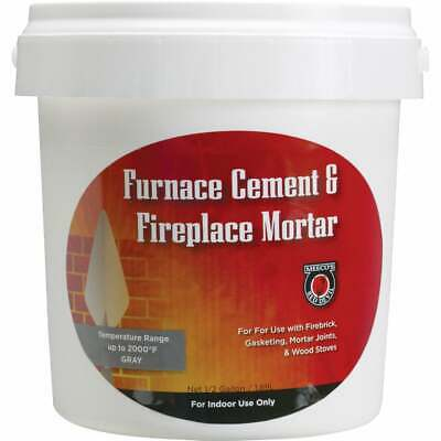 Meeco's Red Devil 1/2 Gal. Gray Furnace Cement & Fireplace Mortar 1355  - 1 Each • 7.93£