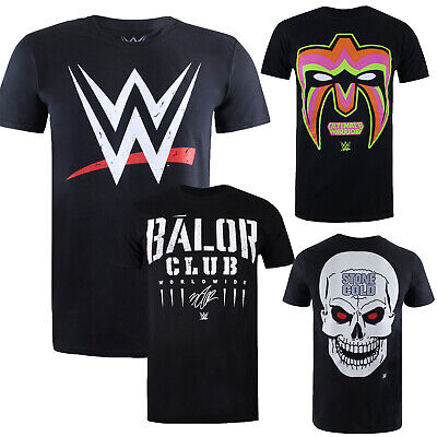 £12.99 • Buy WWE Mens - Mixed Collection - T-Shirts - Multicolored