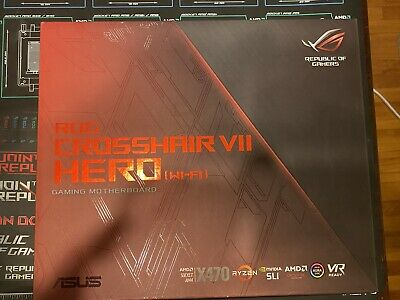 AU327.72 • Buy ASUS ROG Crosshair VII Hero Wi-Fi X470 Motherboard For AMD Ryzen CPUs.