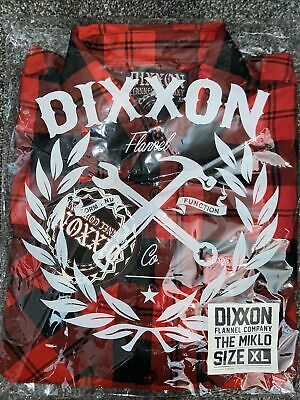 """$94.99 • Buy DIXXON FLANNEL  The Miklo"""" Size XL Extra Large SOLD OUT! NIB! Blood In Blood Out"""