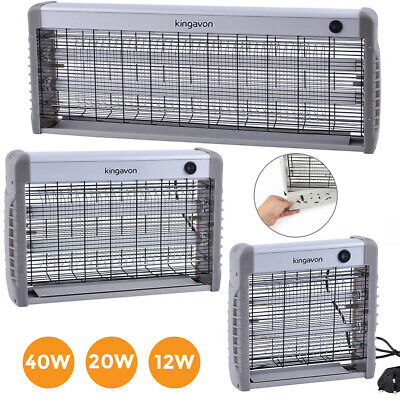 £20.85 • Buy Electric UV Insect Killer Mosquito Fly Pest Bug Zapper Trap LED Light UK 12W/20W