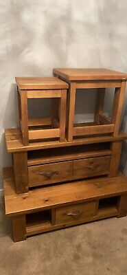 £200 • Buy Next Furniture - Used - TV Unit, Coffee Table And 2x Side Tables