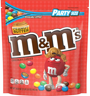 $40.99 • Buy M&M'S Peanut Butter Chocolate Candy Party Size