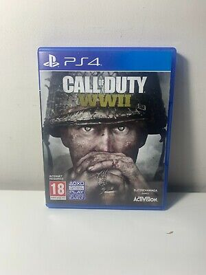 £7.89 • Buy Call Of Duty WWII PS4 PlayStation 4 PAL *FREE UK P&P*