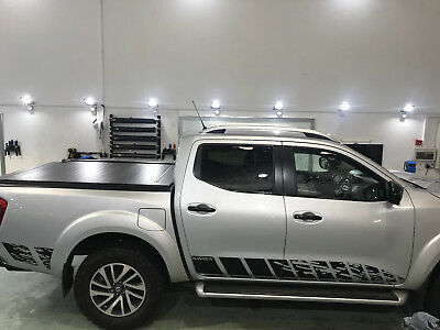 £29.99 • Buy Nissan NP300 NAVARA 2016 - 18 Nguard Style Side Stripes Decal Graphics Decals