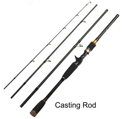 AU59.29 • Buy Fishing Rods Spinning Casting Rod Carbon Fiber Telescopic Fishing Pole 2.1M-3.0M
