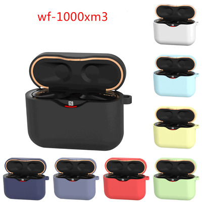 Silicone Case For Sony WF-1000XM3 Cover Charging Pouch TWS Wireless Headphone • 3.97£