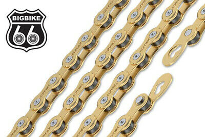 AU65.04 • Buy ConneX 9SG 9-Speed Gold Road / MTB Bike Chain Fits SRAM Shimano Campy