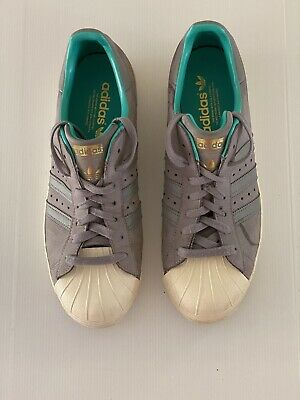 AU17 • Buy Adidas Superstar Style Grey Men's US Size 10 Uni Sex Trainers Casual Sneakers