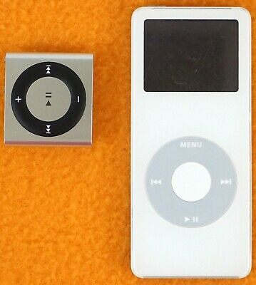 £14.35 • Buy Ipod Nano 2GB (A1137) / Ipod Shuffle (A1373) Both With Deceased Batteries