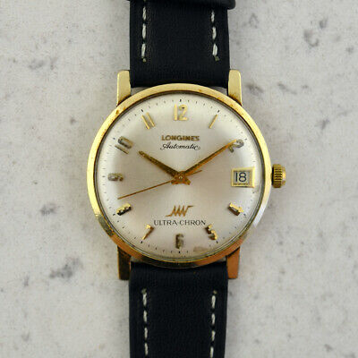 £621.19 • Buy C.1960s Vintage Longines Automatic Ultra-Chron Hi-Beat Cal.431 In 10k Gold Fill