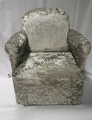 £30.99 • Buy Kids Childrens Chair Armchair Baby Sofa Seat Fabric Upholstered Boutique Velvet