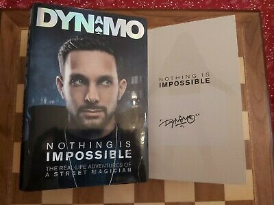 £69.99 • Buy DYNAMO SIGNED Nothing Is Impossible Autobiography 1st Edition 1st Impression HB