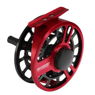 $ CDN229.83 • Buy Cheeky Boost 350 Fly Fishing Reel - Size 5/6 Wt - Color Red / Black - NEW!