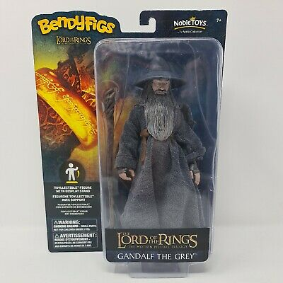 £12.99 • Buy Lord Of The Rings Action Figure - Bendyfigs Gandalf The Grey Free Postage
