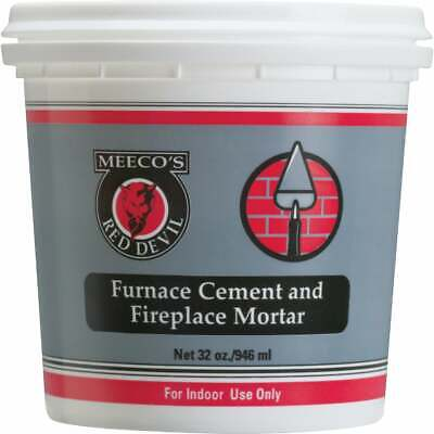Meeco's Red Devil 1 Qt. Gray Furnace Cement & Fireplace Mortar 1354  - 1 Each • 5.74£