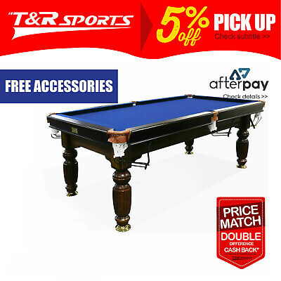 AU1270.99 • Buy 2017 Model 7ft Walnut Pool Snooker Billiards Table Slate With Accessaries
