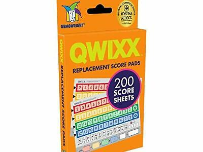 $ CDN17.50 • Buy Gamewright Qwixx Replacement Score Cards Action Game Multi-colored 1 Pack
