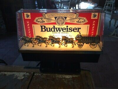 $ CDN124.28 • Buy Budweiser Clydesdales Bar Display Light, 8  Length, 5  Height, Clamp Hardware
