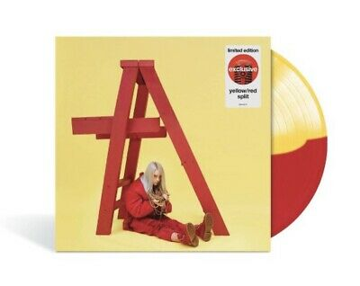 $ CDN47.48 • Buy Billie Eilish ‎– Dont Smile At Me Exclusive Limited Red Yellow Split Vinyl LP