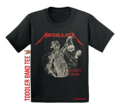 £15.97 • Buy Metallica And Justice For All Vtg Style METAL T Shirt TODDLER 3T Black Tee NEW