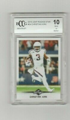 $19.99 • Buy Christian Kirk 2018 Leaf Rookie Star Card #04 BCCG 10