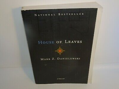 HOUSE OF LEAVES BY MARK Z. DANIELEWSKI 2000 TRADE PAPERBACK 1st COLOR PRINT • 8.74£