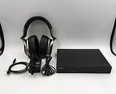 AU351.60 • Buy Sony MDR-HW700DS Wireless Headphones Black Tested