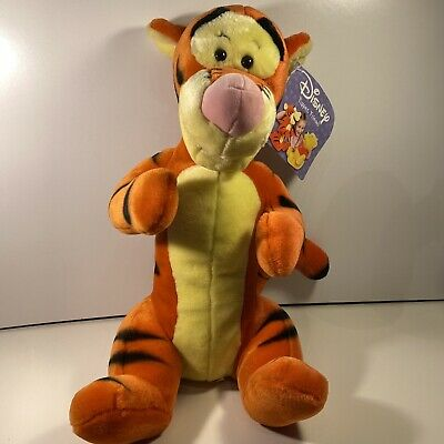 Tigger Large Disney Puppet Friend Winnie The Pooh Plush 17  Brand New With Tags • 12.99£