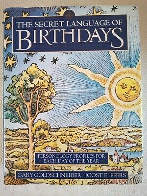 £9.99 • Buy The Secret Language Of Birthdays, HUGE, HEAVY Book, Over 800 Pages