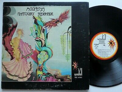 £10.91 • Buy MOUNTAIN Nantucket Sleighride LP Leslie West With 2 Pictures NO Booklet