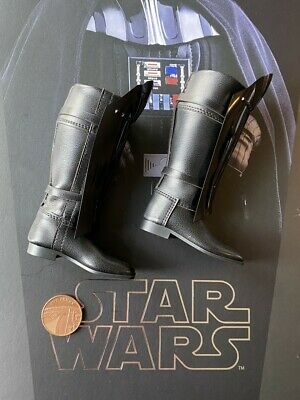 $ CDN69.23 • Buy Hot Toys Star Wars Darth Vader 40th MMS572 Tall Black Boots Loose 1/6th Scale