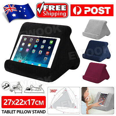 AU12.95 • Buy Tablet Pillow Stands For IPad Book Reader Holder Rest Laps Reading Cushion AU