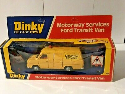 Dinky Toys Ford Transit Motorway Services No.417 - Boxed • 26£