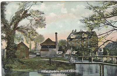 £4.99 • Buy UXBRIDGE, VIEW FROM RIVER FRAYS - OLD MIDDLESEX POSTCARD (ref 7264/19 B02)