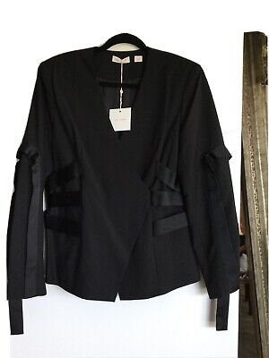 AU200 • Buy Sass And Bide 14 The Sting Jacket Black New With Tags