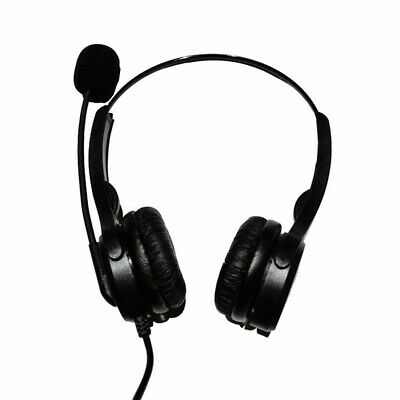 £12.02 • Buy Call Center Headset USB Wired Offical Telephone Headphone With Microphone
