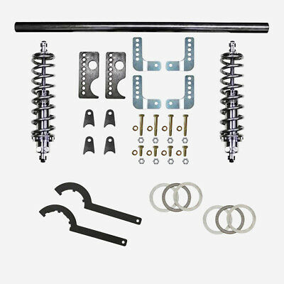 $649.99 • Buy 79-04 Mustang Rear Coil Over Kit Viking Mini-Tub Double Adj Weld In Free Ship