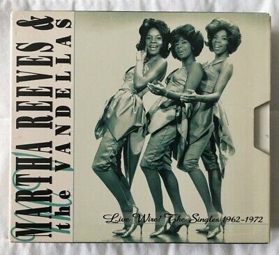 £15 • Buy Martha Reeves And The Vandellas Live Wire The Singles 1962 - 1972