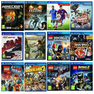 £25.99 • Buy PS Vita Games Buy 1 Or Bundle Up - Super Fast Delivery - Same Day Dispatch