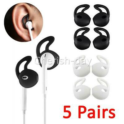 AU8.95 • Buy 5 Pair Airpods Earpod Ear Hook Cover For Apple Airpods Earbuds Ear Tips Silicone