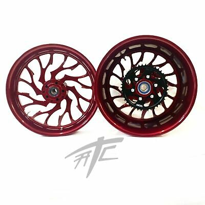 $2399.99 • Buy Gsxr Stock Size Illusion Cherry Hellian Wheels 01-08 Suzuki Gsxr 1000