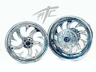 $2399.99 • Buy Gsxr Stock Size Chrome Shark Tooth Wheels 01-08 Suzuki Gsxr 1000