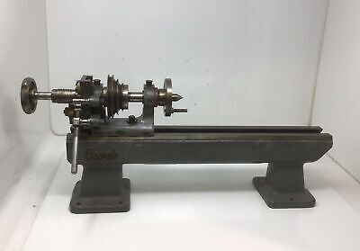 £322.14 • Buy LORCH Watchmakers Jewelers Lathe BED & HEADSTOCK NOT COMPLETE Free Ship